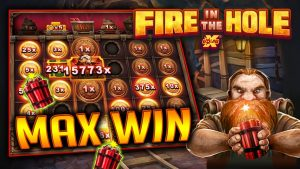 Fire in the Hole xBomb Slot Machine